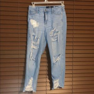 Hollister High Rise Slim Straight Jeans Size 9